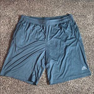 Adidas Mens Gray Clima lite Athletic Shorts SZ.XL